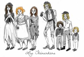 The Thenardiers by xxIgnisxx