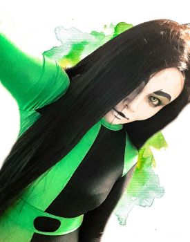 Kim possible - Shego (costest) by DarkInquisitor666