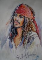 Captain Jack Sparrow by MarinaCardoso