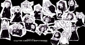 HP-Cute Deatheaters Mood Set by Nachan