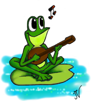 Frog in Love by Ilaria94Ilaria