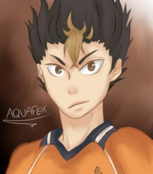 Nishinoya Yuu by AquaFlox