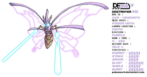 DeBUG 049 - Venomoth by Pokemon-FR