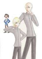 .DrEvil.MiniMe..Malfoy Style. by YuuiHime