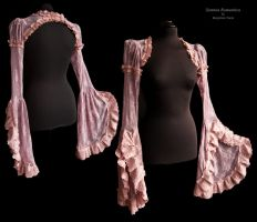 Shrug heather lace, Somnia Romantica by M. Turin by SomniaRomantica