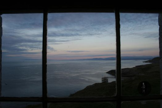 Sunset from the lighthouse by Spartan111777