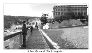 One Man and His Thoughts by Tenshadesofgrey