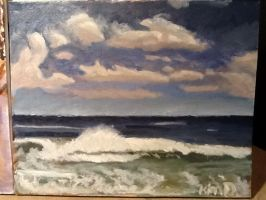 Outer Banks Oil Study finished version  by theoddlydifferentone