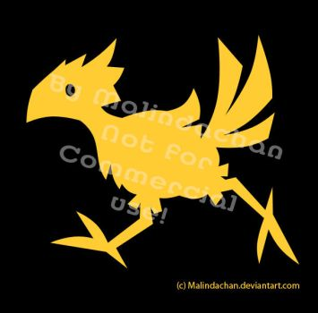 Chocobo Vector by Malindachan