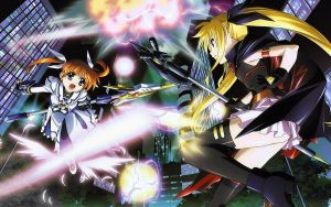 Nanoha - Wallpaper by Archangel-PT