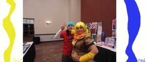 Yang and Fred(Yang Is AWESOME!!!!!!!!) by DraginKYle44
