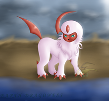 [Commissioned] Milica the Absol by Orion-the-Absol