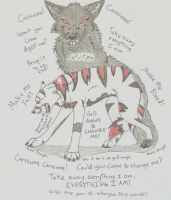 Carnivore, Carnivore by wolfforce58
