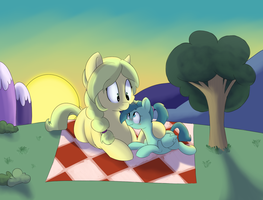 Evening Cuddles by MrRowboat