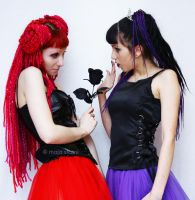 Red and Purple1 by venusmantrap