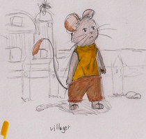 Village Mouse by Yangsl