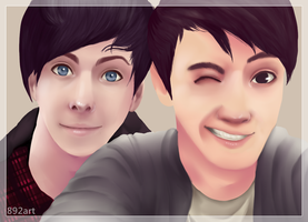 Dan and Phil by chimchim892