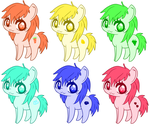 Pony Adopts -open- by LiahMew