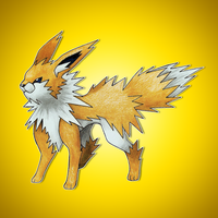 Mega Jolteon by FakeMakeT