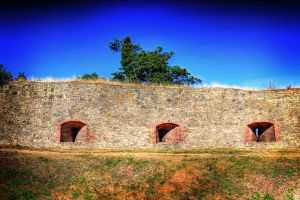 Old castle wall HDR by LucaDeBoa
