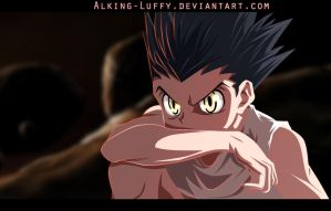 GON HUNTERxHUNTER Coloring By Alking-Luffy by Alking-Luffy
