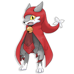 The Big Bad Wolf Fakemon by Neliorra