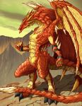 Mountain Dragon by ketzalcoatl