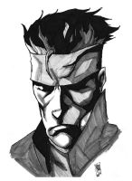 Solid Snake by Chimy-The-Zombie