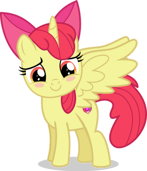 [Request] Apple Alicorn by LimeDazzle