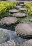 water path with round stones by Nexu4