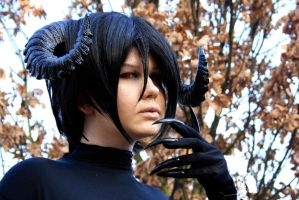 Sebastian Michaelis - True Form I by Karyu-sama