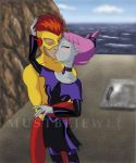 Jinx+Wally kiss..MustBeJewel by JinxXKidFlash-Club
