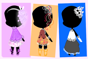 Auction : Spring Outfits by Soxiiii