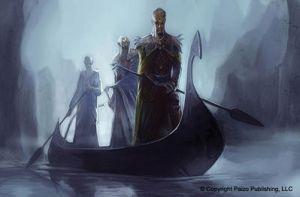 Sinister Boat Ride by Concept-Art-House