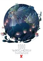 1000 watchers! 1000 thanks! by SilviaVanni