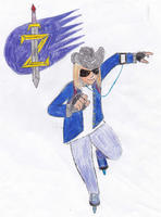Zeke (and his tag (and glasses)) by Light-He-arth
