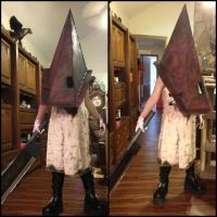 Silent Hill 2 red Pyramid Thing cosplay V.5 by TheDarkAssassin444