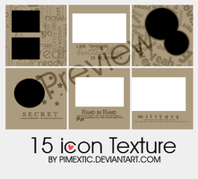 15 icon Texture 06 by PIMEXTIC