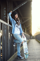 Skater Girl by DaddysDarling