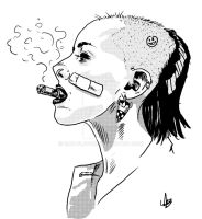 Tank Girl by mad-flavor