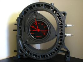 Rotary Clock by Revolution-Zero