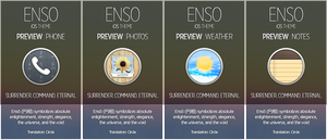 ENSO for iOS - Preview : Phone,Photos,Weather... by winsontsang