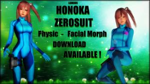 [MMD DL] HONOKA ZeroSuit AVAILABLE ! by LGMODS