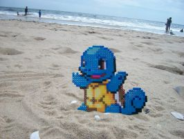 Squirtle Bead Sprite by LordBoop