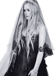 Avril Lavigne PNG (Wedding Photo) by ClourfuldreamDesign