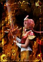 Warrior's promise - MKR Rayearth Hikaru cosplay by LocoAddicted