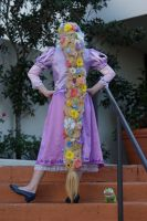 Rapunzel Wig by Foxy-Cosplay
