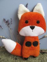 New Orange Fox by mypetmoon