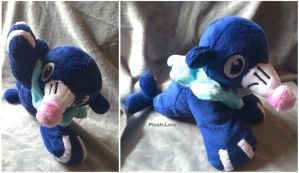 Popplio Plush by Plush-Lore