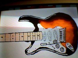 Electric Guitar by Realisticlaura12